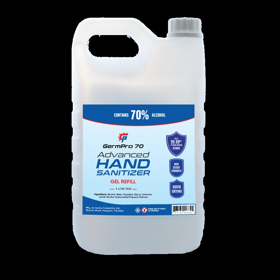 Germ Pro 70 Gel Hand Sanitizer 4 Liters